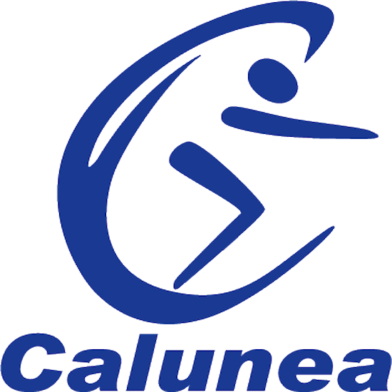 "Lunettes de natation ""FLAME THROWER ORANGE FUNKY TRUNKS"" Sangle bleue"