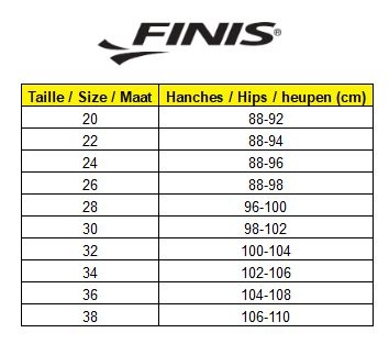 Tailles Fuse Homme Finis